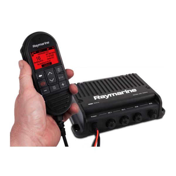 VHF Ray90 Black Box con AIS700 Rx/Tx ( include 1 x cornetta cablata, altoparlante passivo e cavo)
