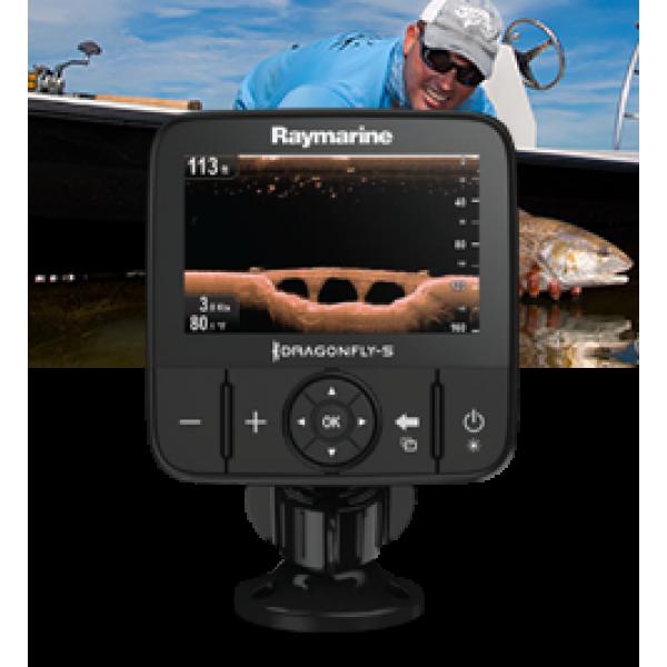 """Dragonfly 5PRO Display 5"""" a colori con CHIRP DownVision, CHIRP Sonar, Wi-Fi e GPS, senza carta e senza trasduttore"""